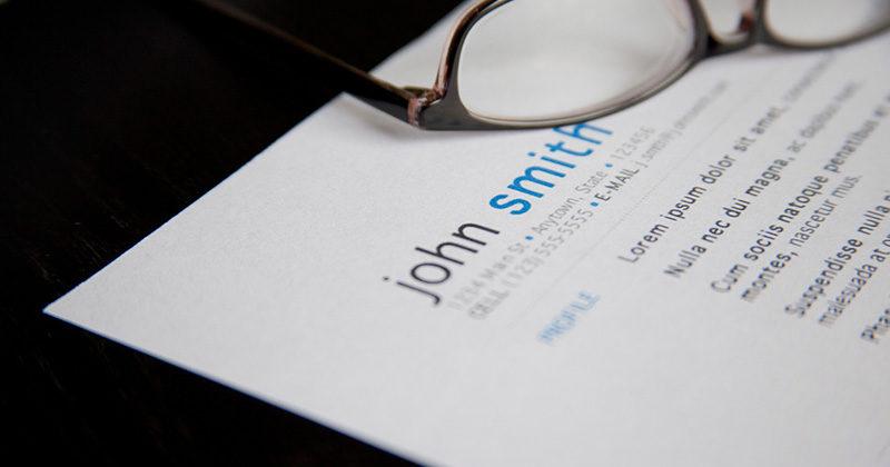 ¿CV sin experiencia laboral?